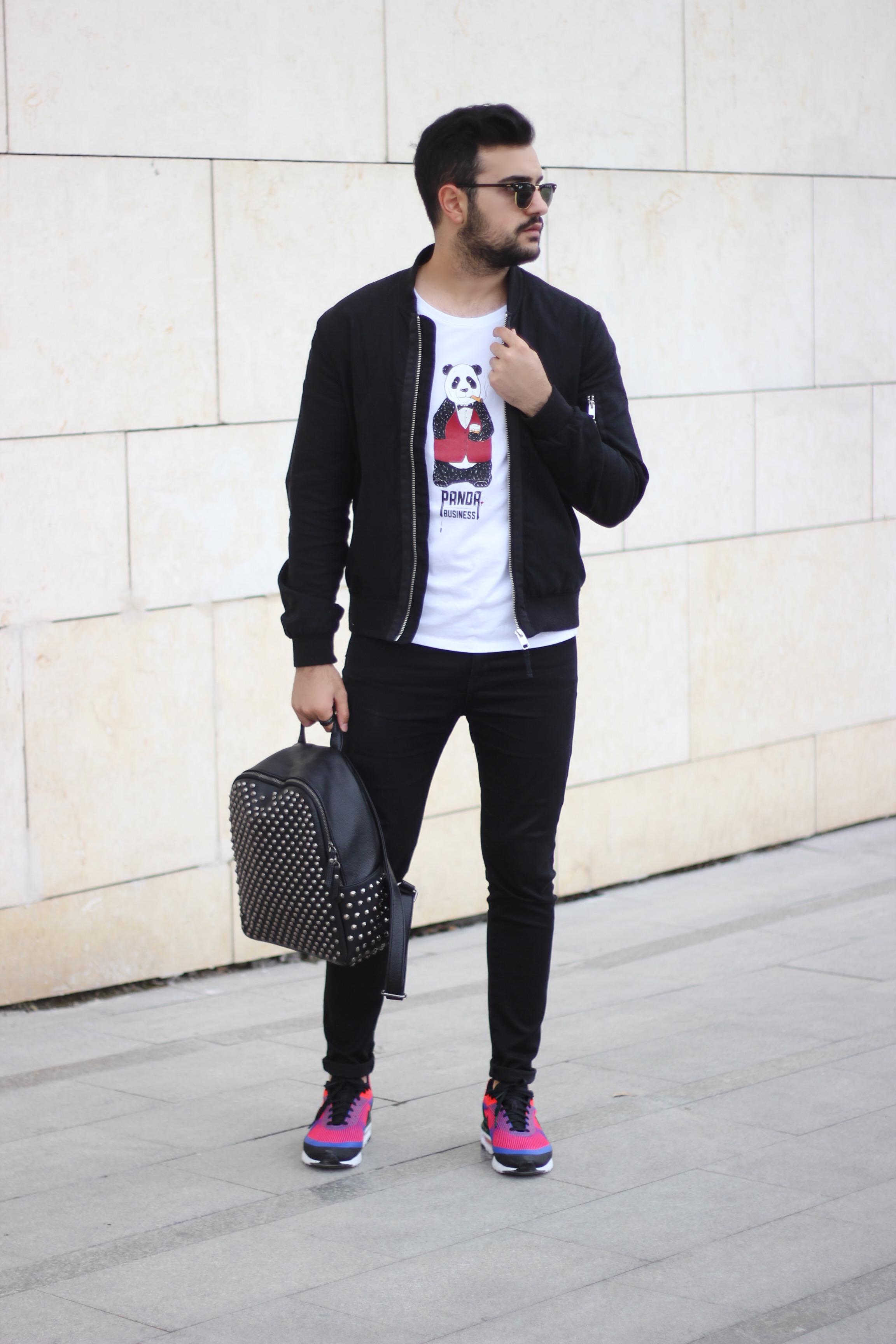 Kubilay Sakarya Nike Air Max Hotiç Çanta