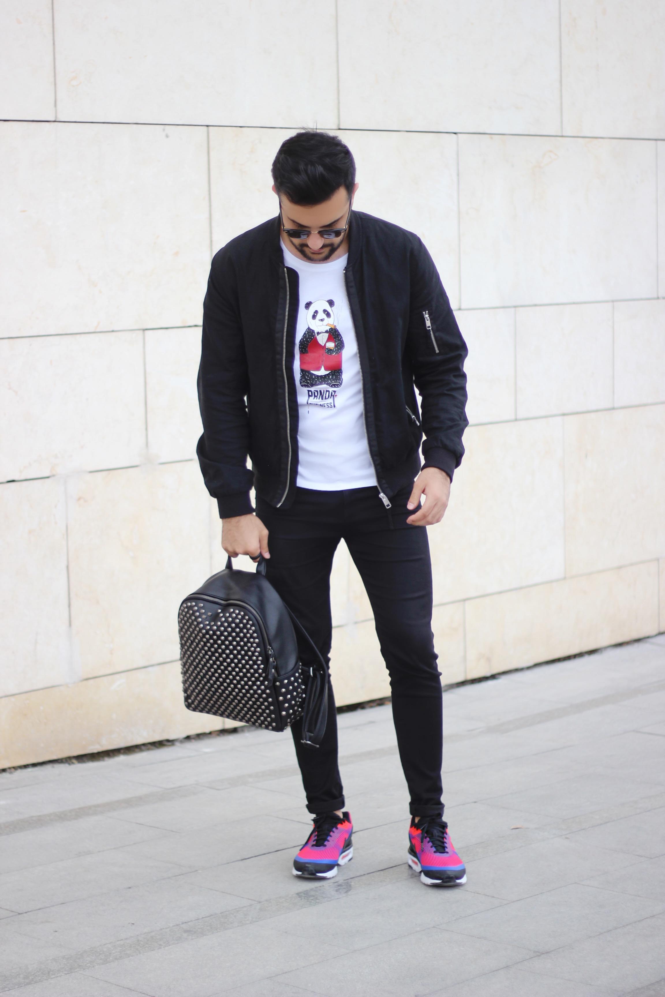 Kubilay Sakarya Nike Air Max Tease Wear PAnda tişört
