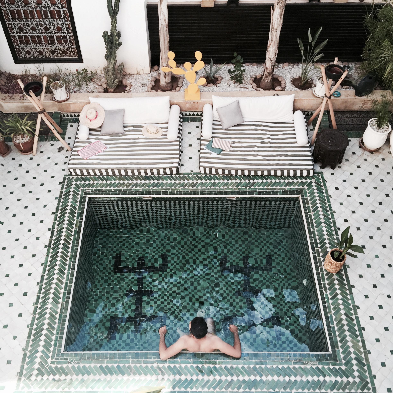 Le riad yasmine hotel marrakech 2