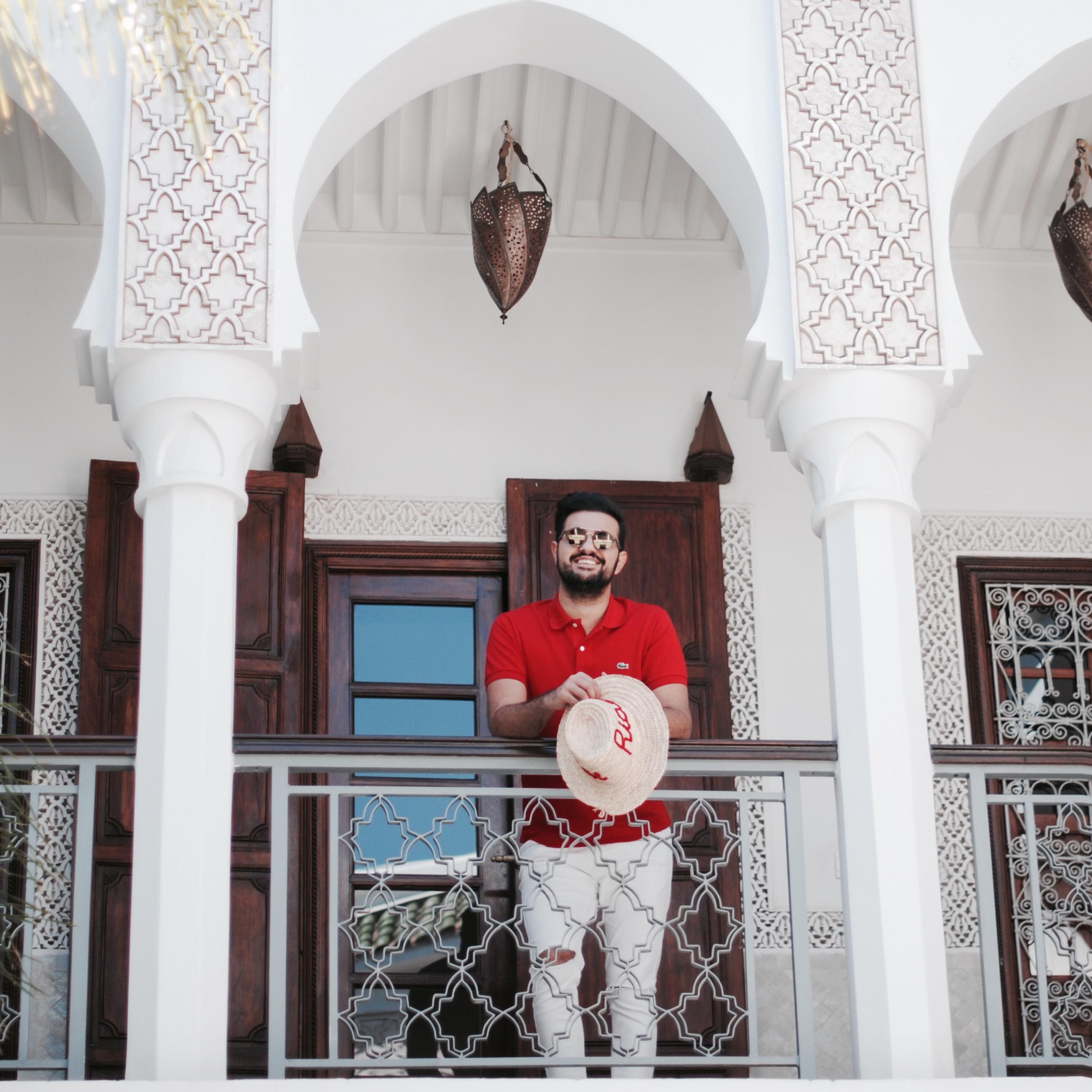 Le riad yasmine hotel marrakech lacoste kubilay sakarya
