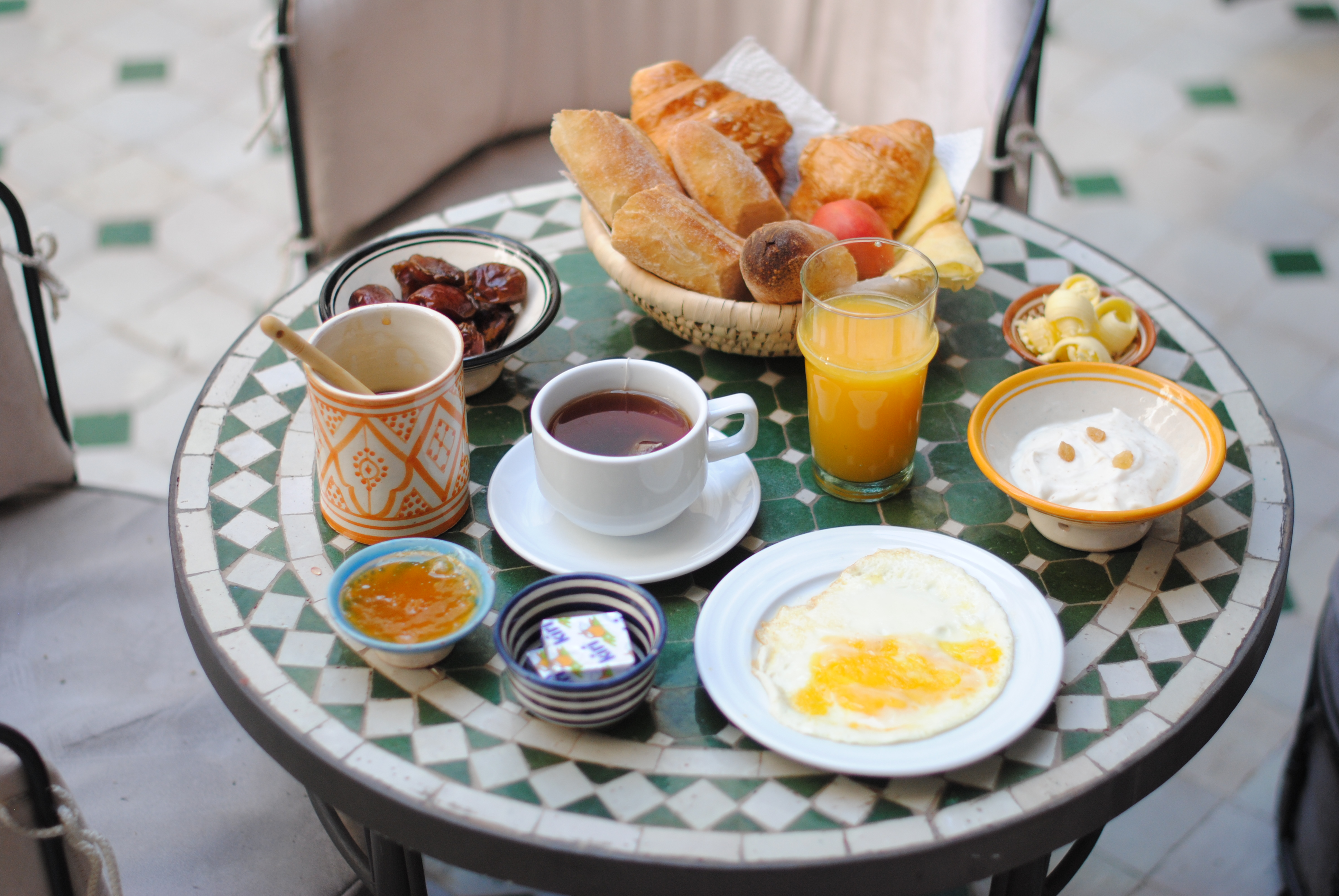 Le Riad Yasmine Breakfast Marrakech- Kubilay Sakarya