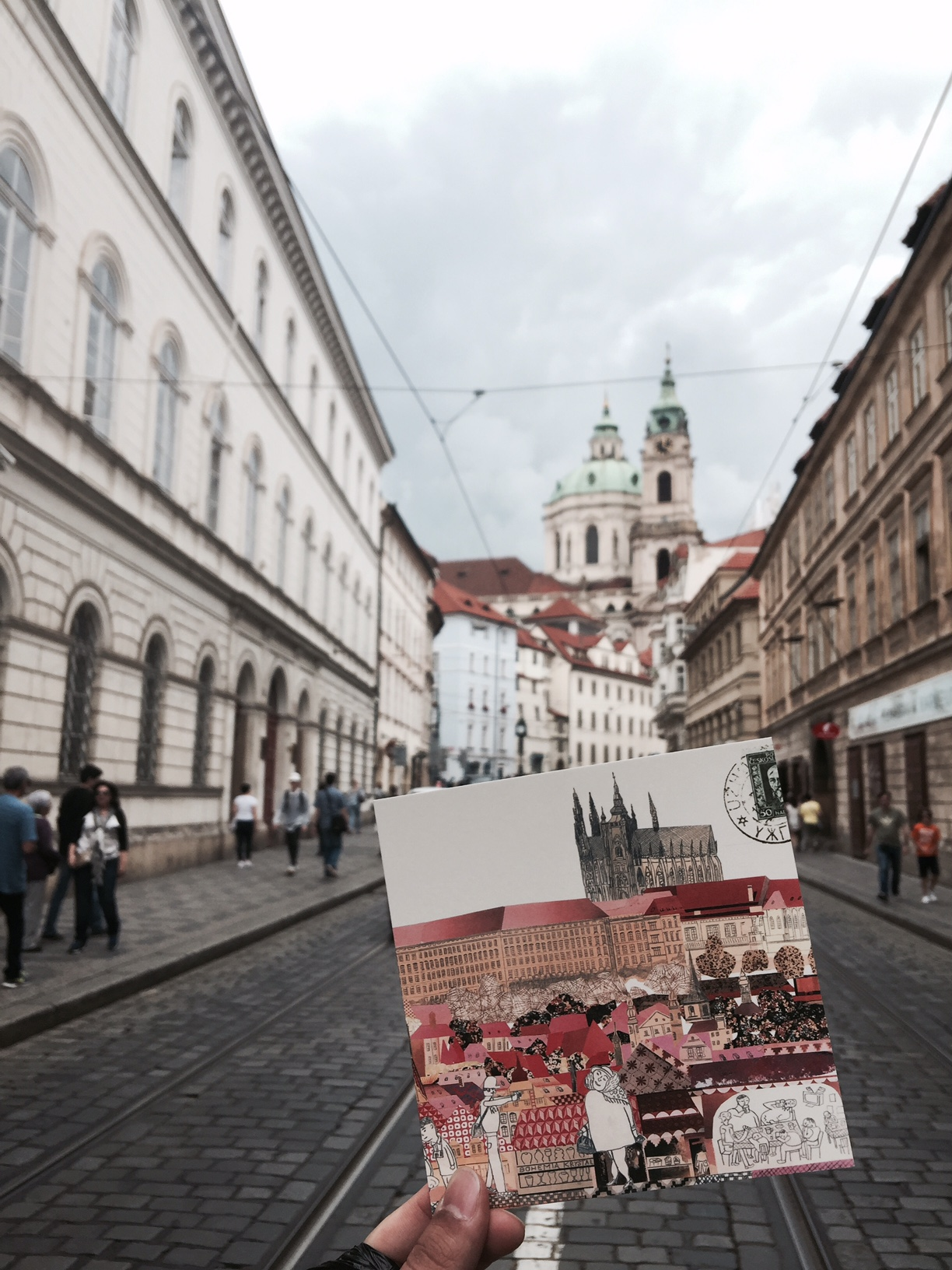 Postcard from Prague Streets