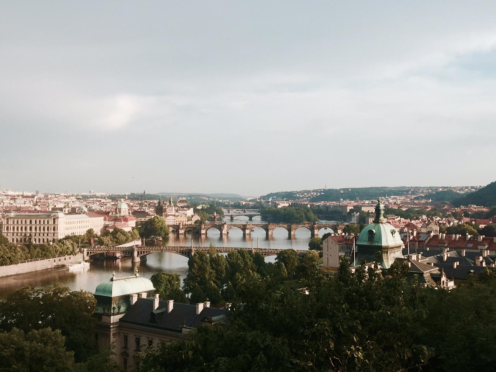 Prag Şehir Manzarası
