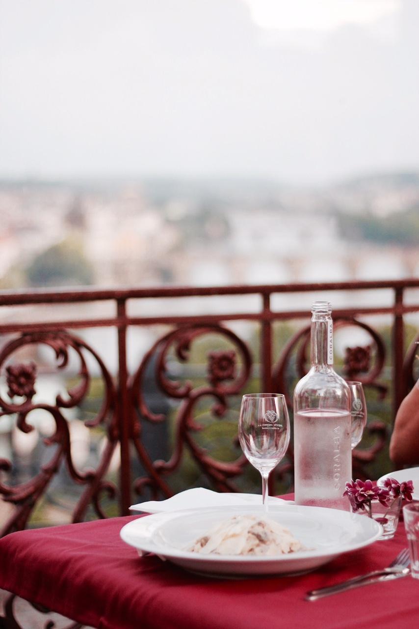 Prague Letna Dinner