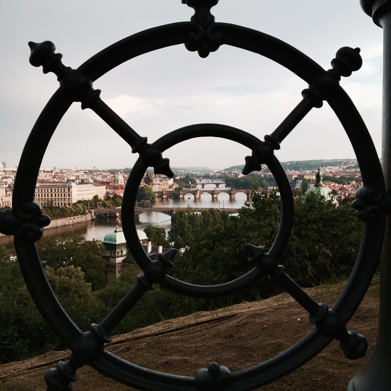 Prague Letna Tepesi Prag manzarası