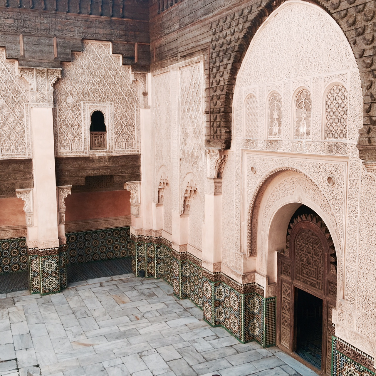 ben-youssef-madrasa-courtyard