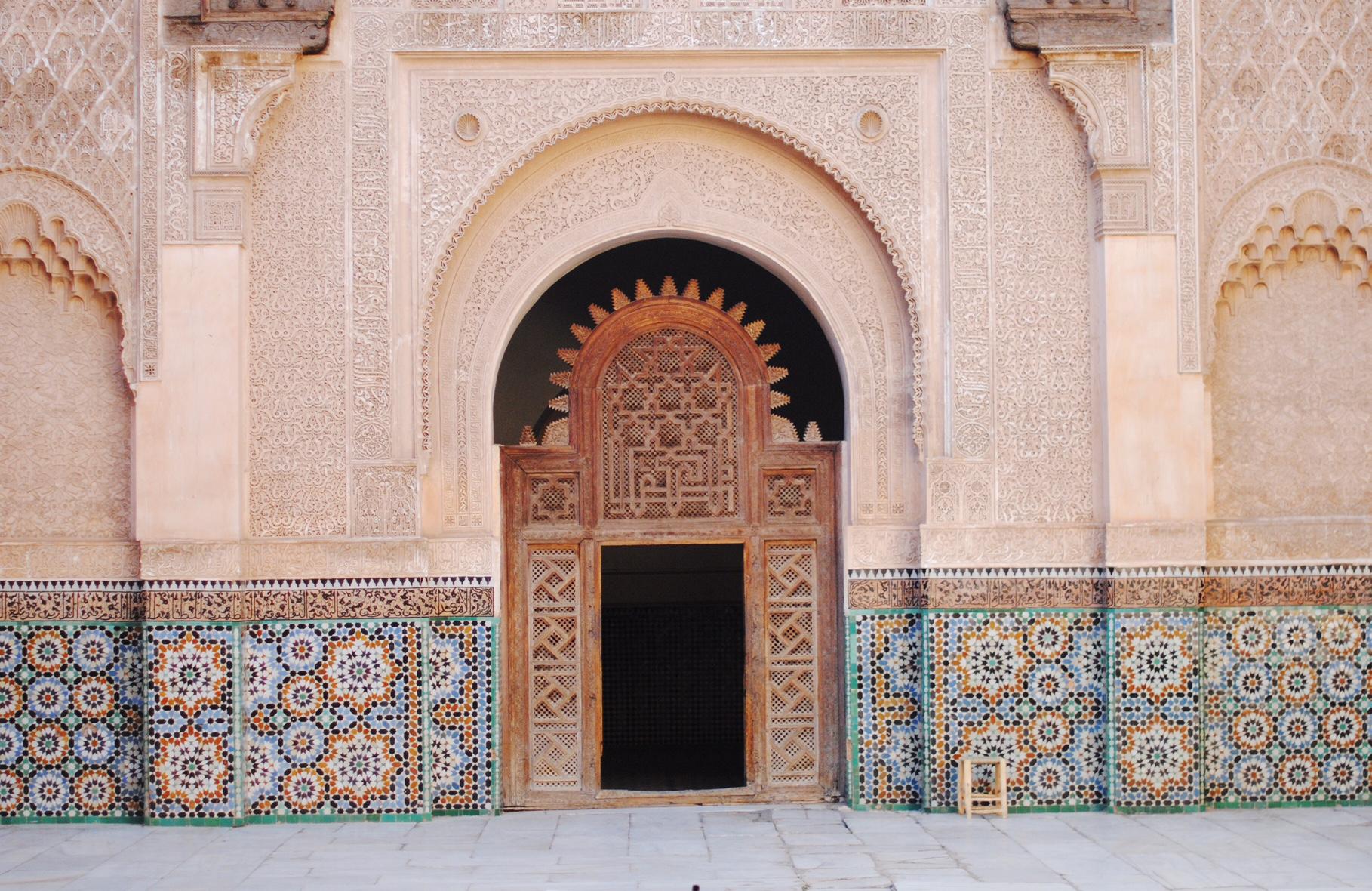 ben-youssef-madrasa-doors
