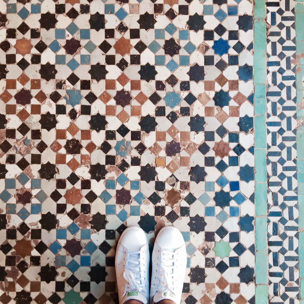 ben-youssef-madrasa-floor-details