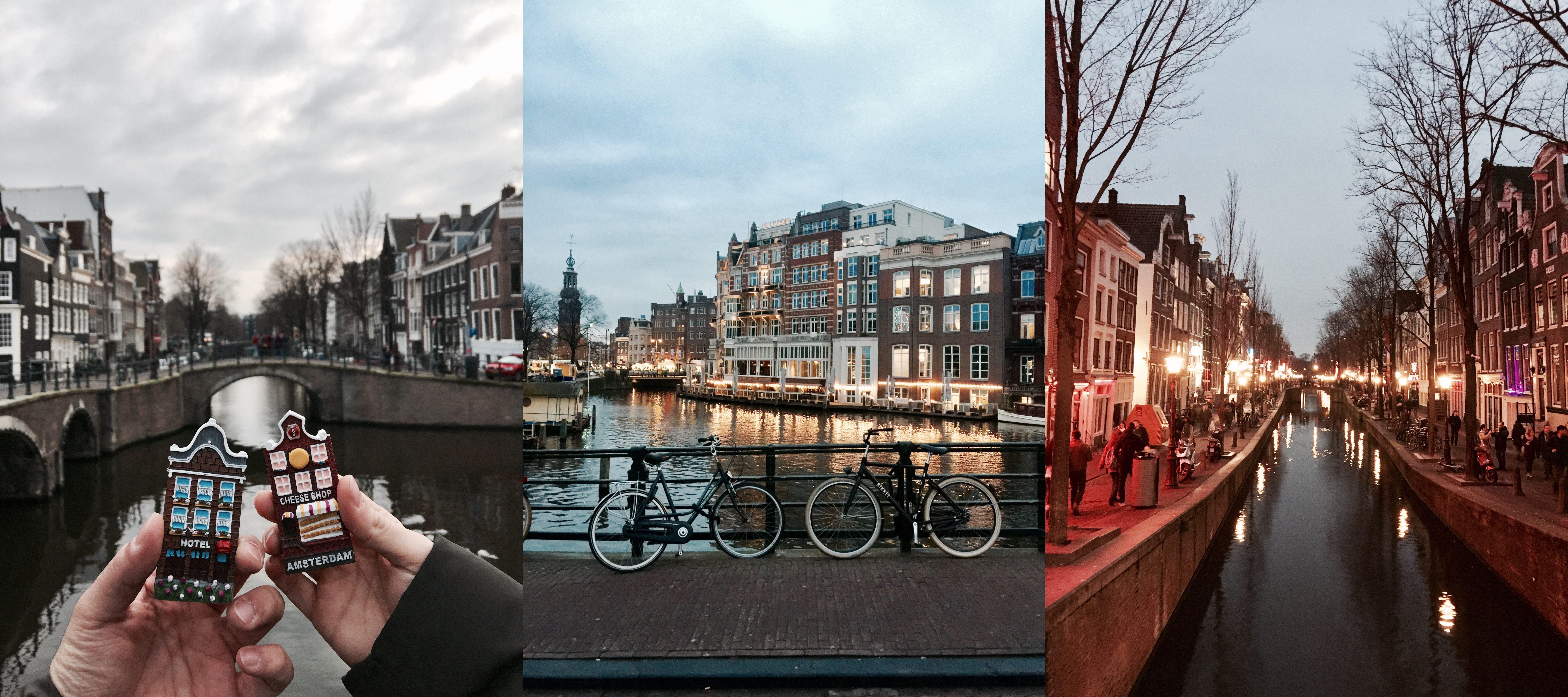 Amsterdam Kanalları Kubilay Sakarya Blog