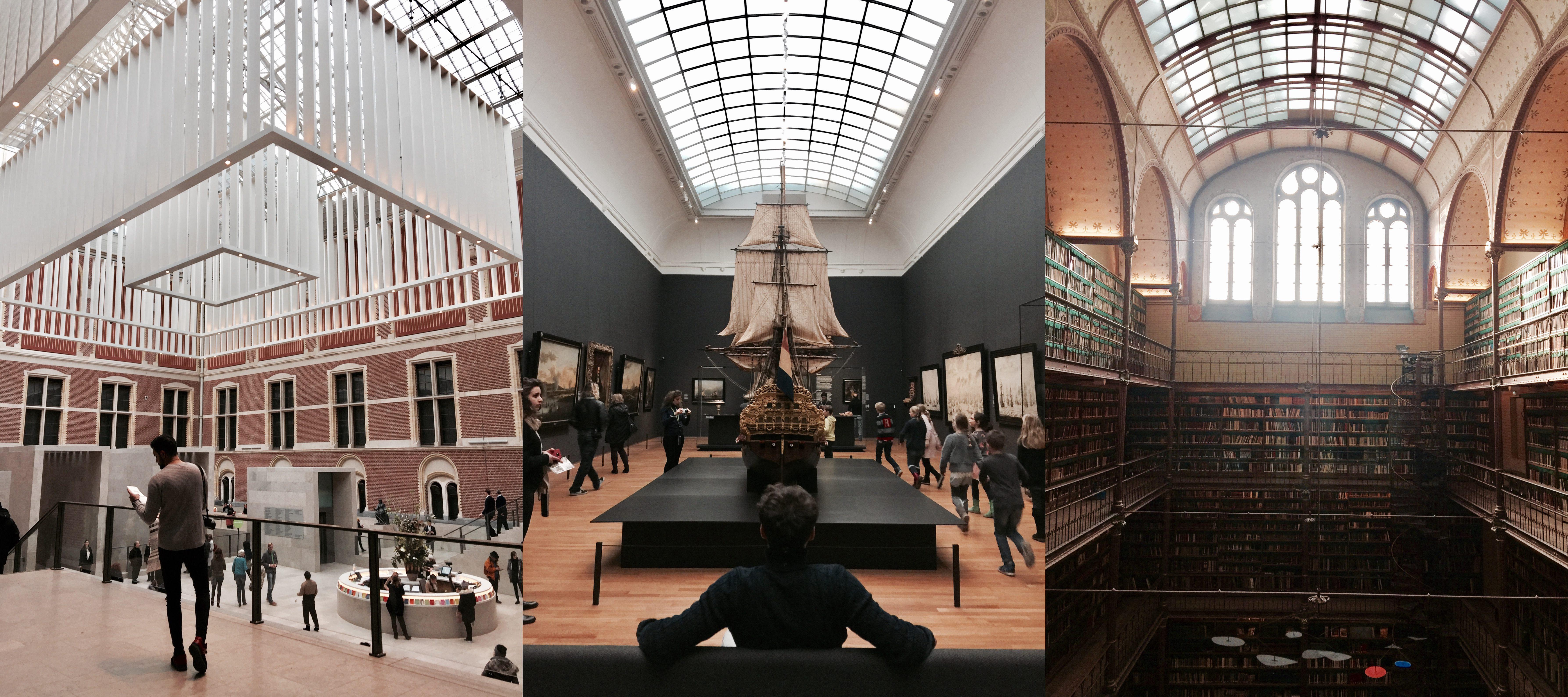 Rijk Museum Amsterdam Interior