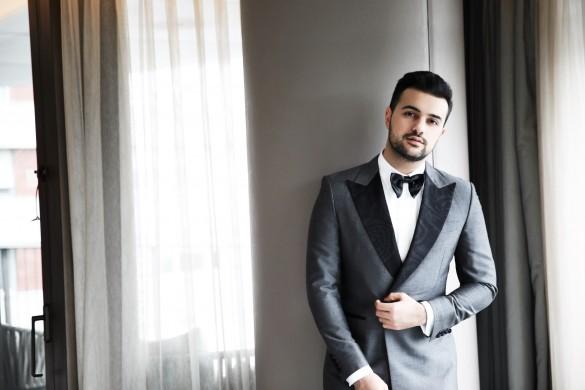 Kubilay Sakarya in Derviş Bağzıbağlı Suit